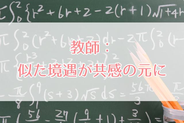 黒板にびっしり書かれた数式